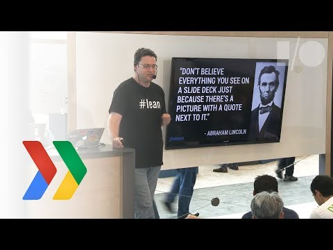 Google I/O 2014 - Don't Listen to Users, Sample Their Experi