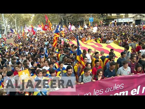 Catalonia separatists urge for peaceful vote