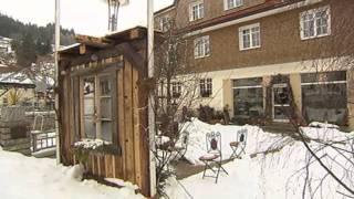 Landesschau BW vom 16.1.2012 Musicalstar Sabrina Weckerlin zeigt Fernsehteam des SWR Furtwangen