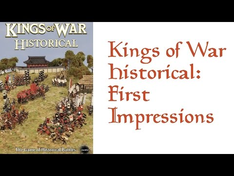 Kings of War Historical: First Impressions