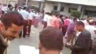 مظاهرات امناء  الشرطة فى محافظة الدقهلية