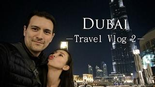 【杜拜旅行】朱美拉棕櫚島+Dubai Mall+哈里發塔+水舞秀│Dubai Travel Vlog #2