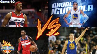 NBA JAM | classic campaign | Washington Wizards VS Golden State Warriors | Game 10