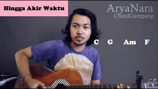 Gambar cover Chord Gampang (Hingga Akhir Waktu - Nineball) by Arya Nara (Tutorial Gitar) Untuk Pemula