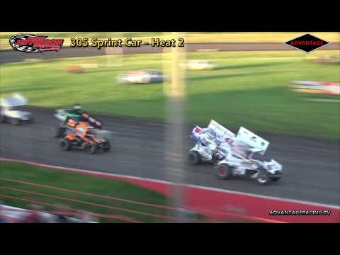 305 Sprint/Sport Modified Heats - Park Jefferson Speedway - 7/14/18