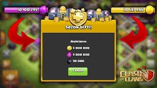 10.000.000 GANİMET İLE SEZONA BAŞLAMAK !! | Clash Of Clans