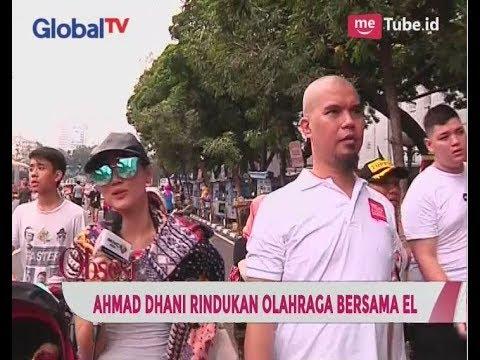 Jalan-jalan di CFD, Ahmad Dhani Rindu Olahraga Bareng El - Obsesi 25/09