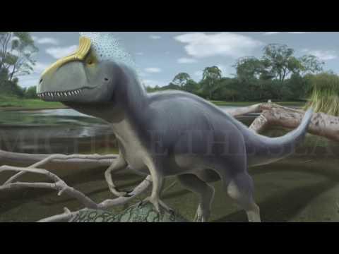 Tribute To Cryolophosaurus Ellioti