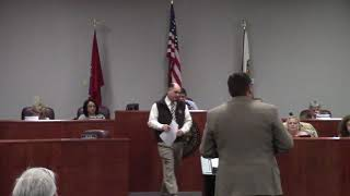 Coffee County TN Board Of Commissioners Meeting 01-08-2019