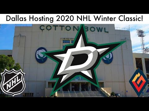 Dallas Stars To Host 2020 NHL Winter Classic! (HUGE Outdoor Game News, + Talk) |