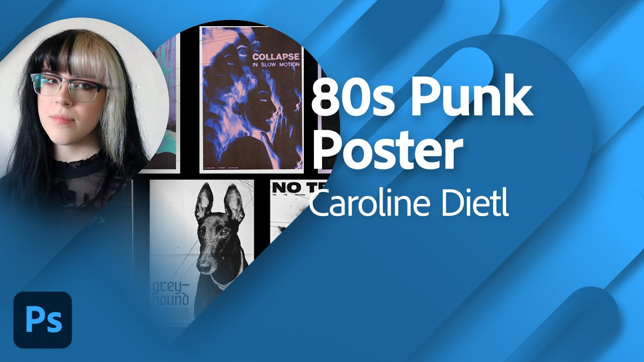 Designing 80s Punk Posters with Caroline Dietl and Maddy Moss  | Adobe Live