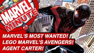 Marvel's Most Wanted! Lego Marvel's Avengers! Agent Carter! - Marvel Minute 2016