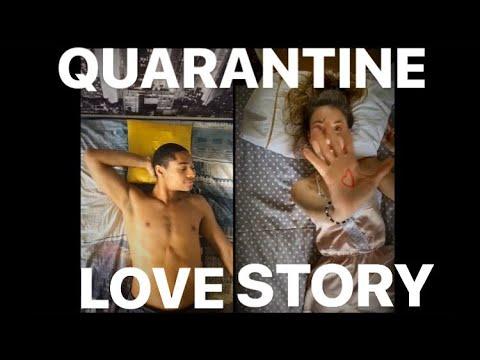 Quarantine love story - Meline et Alexandre - choreographie Justine Unzel