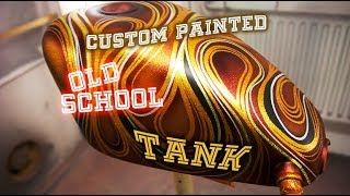 Download Custom painted old school tank. (Psychedelic, flakes & candy) Mp3 and Videos
