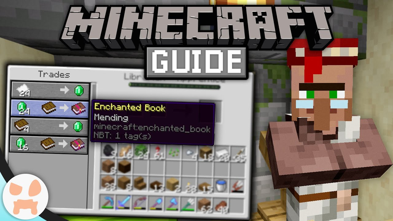 How To Get MENDING VILLAGERS!  The Minecraft Guide - Minecraft 8.88.8 Lets  Play Episode 88