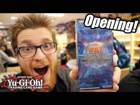 Yu-Gi-Oh! Link VRAINS Pack Box Opening!