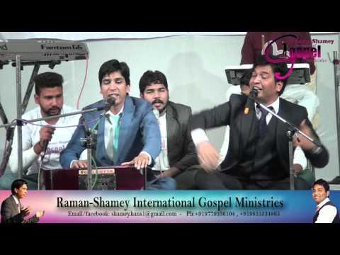 Raman hans  Shamey hans Live Worship In Ludhiana 2015