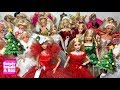EVERY Holiday Barbie Doll Full Collection 1988-2018