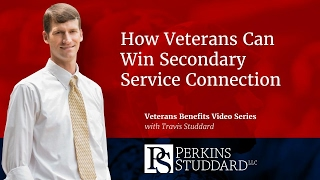 How Veterans Can Win Secondary Service Connection