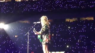 Taylor Swift - Tears Drop On My Guitar - Reputation Tour Denver