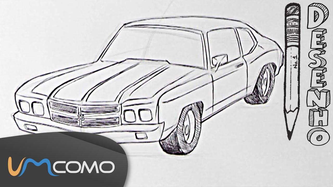 Desenhar Um Carro Passo A Passo Youtube