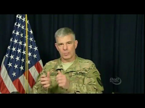 Spokesman Provides Inherent Resolve Update From Baghdad