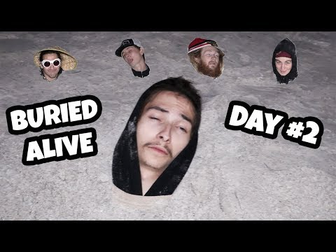 5 People BURIED ALIVE!! (Last To Leave Wins $10,000)