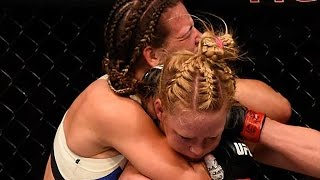 Miesha Tate Chokes Out Holly Holm - UFC 196
