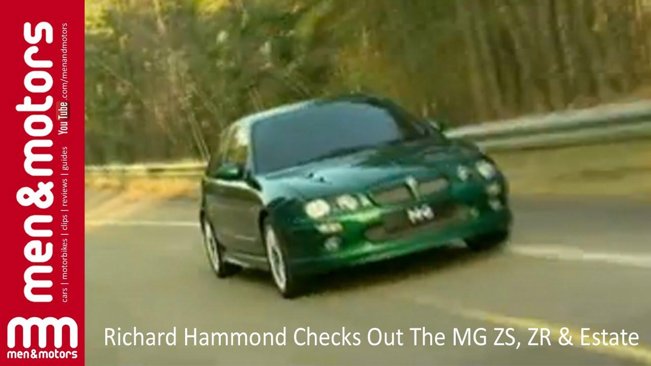 Richard Hammond Checks Out The MG ZS, ZR & Estate - YouTube