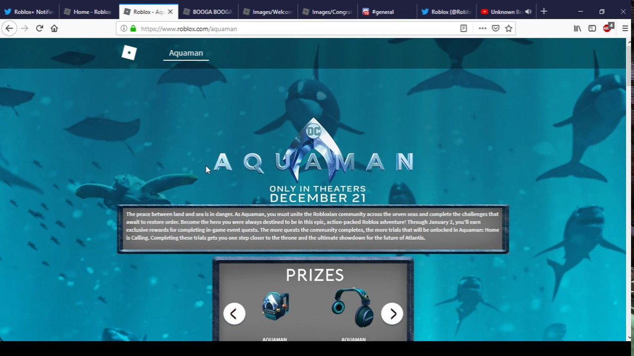 Possible Booga Booga Aquaman Badges And Spash Screens Roblox
