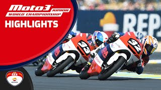 Highlights Race Le Mans Moto3™ Junior World Championship