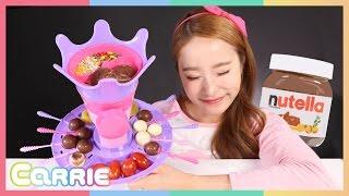 디즈니 막대사탕 만들기 장난감으로 막대 초콜릿 만들기 놀이 CarrieAndToys