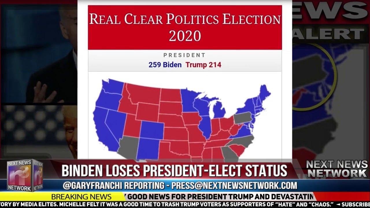 BREAKING NEWS: ?BIDEN LOSES PRESIDENT- ELECT STATUS?