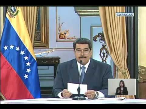 Explica Maduro cómo se pagará el aguinaldo y la primera quincena de diciembre