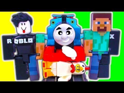 ROBLOX Figure Packs Series 1 Thomas Trackmaster Train Wreck John Doe FREE CODES