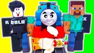 ROBLOX Figure Packs Série 1 Thomas Trackmaster Train Wreck John Doe CODES GRATUIT