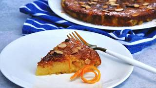 Dessert Recipe: EASY Almond Cake by Everyday Gourmet with Blakely