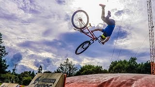 EPIC FAILS! (LEARNING TO BACKFLIP!) w/ Toddy Smithy & 80Fitz