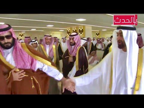عاجل | لحظة وصول الامير محمد بن سلمان و برفقة محمد بن زايد لمهرجان ولي العهد للهجن بالطائف