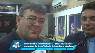 Amarílio convoca vereadores e população para sessão itinerante no distrito de Timbaúba