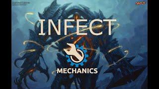 MTG Friends - Infect | Magic the Gathering | MTG | Infect Mechanic