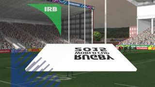 Rugby World Cup 2015 Ireland VS South Africa Hard Mode
