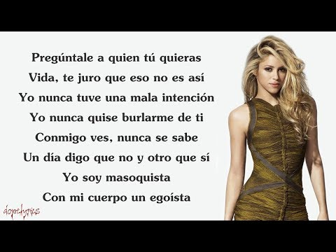 Shakira - Chantaje (Lyrics) Ft. Maluma