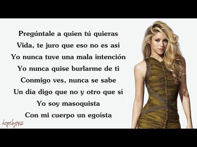 Chantaje Letra Shakira Ft Maluma Golectures Online Lectures