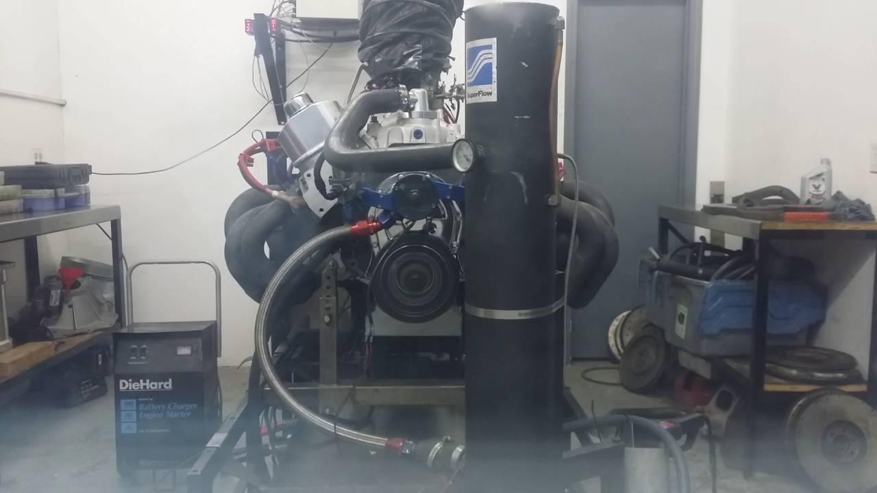 Pump gas, mild hydraulic roller, 498 BBC, 659hp @ 5800 and 674tq @ 4600