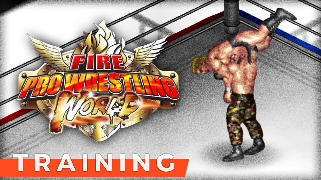 ⁞ Fire Pro Wrestling World ⁞Training (Part 0) ⁞ Let's Play Fire Pro  Wrestling Early Access Gameplay