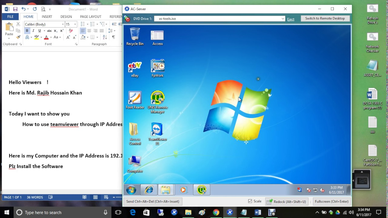 Use teamviewer for Lan network - YouTube