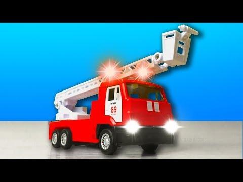 МЕГА обзор про Машинки. Кто лучше: Автовоз, Пожарная машина или Полицейский автомобиль?