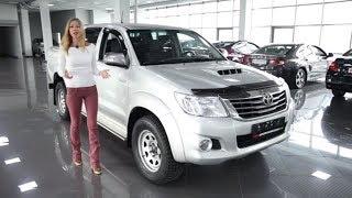 Подержанные автомобили  Toyota Hilux 2012  Вып 184