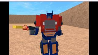 Roblox: Transformers theme Classic